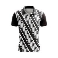 EG Men Polo Tshirt Golf BATIK ORIGINAL - Baju Golf Pria BRANDED aks