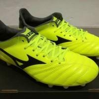 Sepatu Bola - Soccer Mizuno Morelia Neo ll Leather Yellow - FG