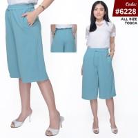 RED ONE Celana Kulot Pendek Katun Stretch Fashion Premium Wanita 6228