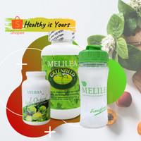Paket Hemat Melilea - GFO / Greenfield, Apple Orchard dan Shaker