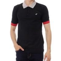 Polo Shirt Kaos Kerah Pria Premium Original Follback Titans Black