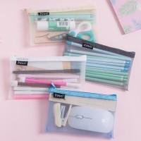 Tempat Pensil / Zipper Bag Edisi Motif Jaring Jaring