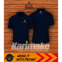 Polo Shirt Kaos Polo Apple Think Different Kaos Gadget - Karimake