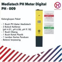 Mediatech Digital PH Meter Pengukur Keasaman Air