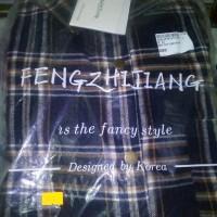 Baju Kemeja Planel Ori Made In Korea Limited Edition