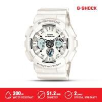 Jam Tangan Casio G-Shock Pria Analog Digital Putih GA-120A-7ADR