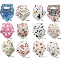bibs bandana / triangle bibs baby / bib slabber anak bayi / slubber