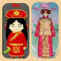 Kostum Anak Baju Adat International Negara China Girl