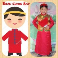 Kostum Anak Baju Adat International Negara China Boy