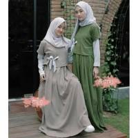 Denada maxi Dress Muslim Gamis Remaja Baju Muslim Wanita Baju Hijab Mu