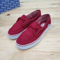 Sepatu Vans Zapato Red White ICC