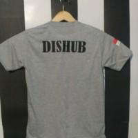 T-shirt Kaos Dishub Abu Misty Real pict - MUTIARA COSTUM
