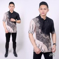 Kemeja Hem Batik Motif Wayang Promo