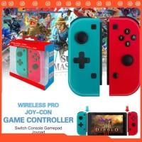 Joycon Stick Nintendo Switch Neon Red Blue Joy Con
