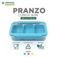 Arniss Pranzo Lunch Box Kotak Tempat Makan Plastik Bekal Anak DX 3052