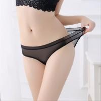 Sexy G String Celana Dalam Wanita Transparan Bahan Lace C121