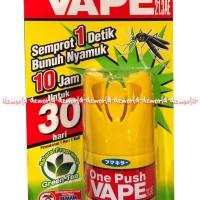 HOT SALE One Push Vape 30 Hari Obat Nyamuk Sekali Semprot Anti Nyamuk