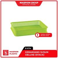 Maspion Keranjang Plastik Susun Serbaguna - Deluxe