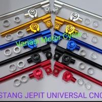 STANG JEPIT ROBOT CLIP ON VIXION NEW/R15/RXKING/TIGER/MEGAPRO/CB150R