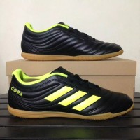 Sepatu Futsal Adidas Copa 19.4 IN Black Yellow BB8098 Original BNIB