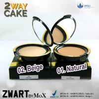 Bedak Two Way Cake ZWART by MOX