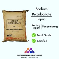 SODA KUE ASAHI ex. JAPAN. SODIUM BICARBONATE FOOD GRADE. || 500gr