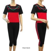Baju Senam Wanita Size XXL, 4L Dan 5L