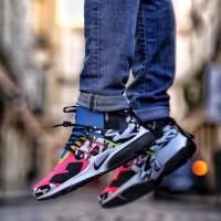 Sepatu Nike Air Presto X Acromim MID Wild Pink Blue Premium Quality
