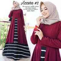 Baju Terusan Wanita Muslim Longdress Azzura #2 Maxy Spassy
