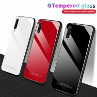 HUAWEI HONOR NOTE 10 TEMPERED GLASS COLOR HARD SOFT TPU CASE