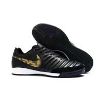 Sepatu Futsal Nike Tiempo X 10 Finale II 2 - Black Gold