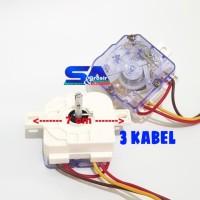 Timer Mesin Cuci 3 Kabel MULTI Wash/Pencuci KOTAK Kuping