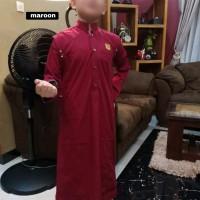 Jubah Anak Lengan Panjang Al Amwa - Baju Muslim Jubah Pangeran Anak