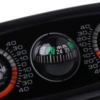 3 in 1 Kompas Inclinometer Inclinometer Angle Level Meter untuk Mobil