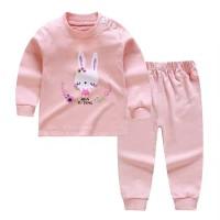 Baju anak lengan panjang/kaos bergambar rabbit cute/set dengan celana