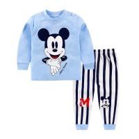 Baju panjang anak/kaos bergambar micky mouse/setelan dengan celana