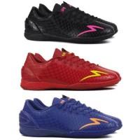 Sepatu Futsal Specs Accelerator Exocet IN Black Beat Magenta Dark Red