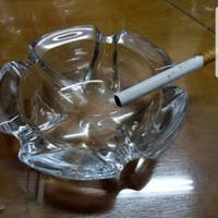 Asbak/Asbak kaca/Glass Ashtray/Ashtray/Asbak/Asbak Puntung/Asbak Bagus