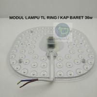 LAMPU CEILING MODUL LED TL RING 36W /MODUL KAP BARET MAGNET 36W