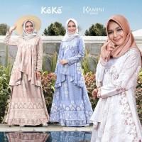 Kekesumut Baju Gamis Dewasa Keke Busana Kamini series GD 20 02 XS - XL
