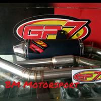 Knalpot Gp7 KLX 150R-Gp7 Balistic Kompetisi