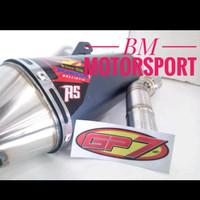 Knalpot Gp7 Honda Crf 150R-Balistic RS Bor up