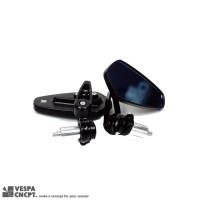 ARROW BAR END MIRROR MODERN VESPA LX S LXV PRIMAVERA SPRINT GTS BLACK