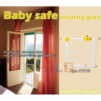 Nikita office Store-Baby Safe Security Gate XY018 Pagar Pengaman Bayi