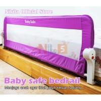 Nikita Office Store-BABY SAFE BEDRAILL XY002 L150 Pembatas kasur anak