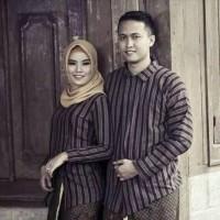 Baju Couple Surjan + kebaya lurik tenun