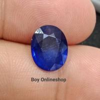 Batu Permata Natural Blue Sapphire - Natural Blue Safir Garansi Asli