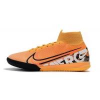 Sepatu Futsal Nike Mercurial Superfly VII 7 Elite IC - Orange Black