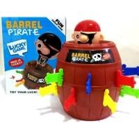 Mainan Anak Pirate Barrel Lucky Game HZ020