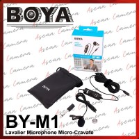 BOYA BY-M1 M1 Lavalier Microphone Micro Cravate Clip-On DSLR HP Laptop
